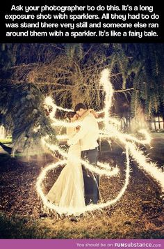 We had sparklers at our wedding… I'm am thinking about putting all of photos as our first real weddings post what do you think? I think sparklers look literally insane in the photos! Wedding Engagement, Our Wedding, Dream Wedding, Magical Wedding, Wedding Night, Wedding Stuff, Engagement Photos, Trendy Wedding, Rustic Wedding