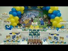 Festa Hora de Aventura - Bolos (Cakes), Cupcakes e Doces - Doce Mel Doces
