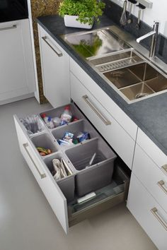 keuken I opbergruimte I indeling keukenlade I opruimen