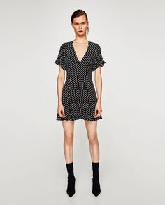 ZARA - WOMAN - MINI DRESS WITH PRINT