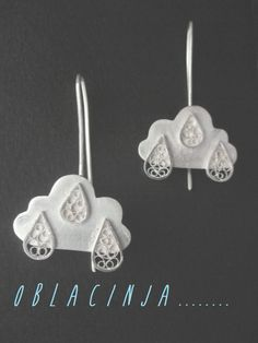 earrings , Silver Filigree ,  https://www.facebook.com/SofijaFiligranskaJewellery