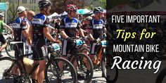 Five important tips of mountain bike racing written by professional racers!