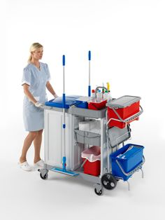 cleaning trolley - Google Search