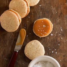 Salted Caramel-Ginger Macarons