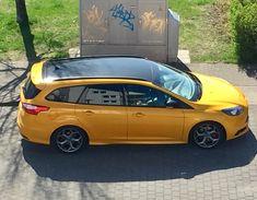 Ford Focus ST schwarzes Dach schwarze Spiegel