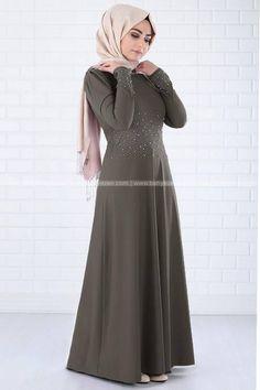 Pınar İnci Abiye Haki FHM395HK Fahima