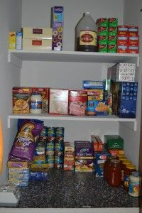 Pantry Organization for the couponer ~ Who Needs a Cape?