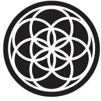 Seed of Life - This sacred geometry is the center of the larger Flower of Life…