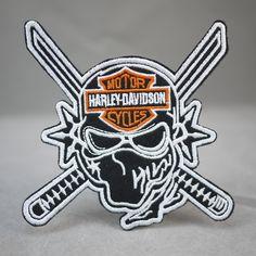 Motorcycle Ninja Harley Davidson Iron On Patch
