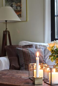 Gant Home autumn 2014 pillows New England Style, Decor, Furnishings, Cosy House, Interior Inspiration, Interior, Lexington Home, Home Decor, Interior Design Images