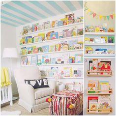 Inspiration: Child Friendly Bookshelves