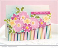 Bold Blooms Birthday: MFT September Release Day