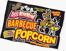 Ass Kickin BBQ Popcorn  Combine the taste of real butter and an ol west barbeque Sweet and delicious but not spicy this is the perfect popcorn for a home movie or on the go >>> Visit the image link more details.