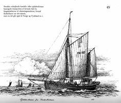Handels- eller opkøberkvaser klarede transporten af levende fisk til markederne i København, Norge og Tyskland. Kilde: Andreas Laursen, Danske fiskerbåde gennem 100 år. 1972.
