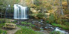 Easy to access small town Wisconsin waterfalls offer a picnic perfect view. Get outdoors and snap some pictures of the Cascade Falls, Dave's Falls & more!