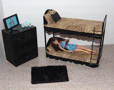 Handcrafted Furniture Bed /Bunkbeds Set For Barbie Monster High