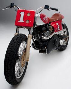 Triumph so-cal Street Tracker #motorcycles #motos #StreetTracker | caferacerpasion.com