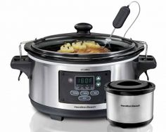 Hamilton Beach: Set & Forget® 6 Qt. Programmable Slow Cooker (33863)Purchased this for mom
