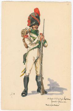 Naples, 5th Line Infantry, Grenadier, Full Dress 1812