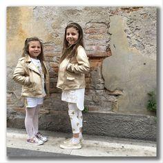 White&Gold per una moda bambino trendy, casual e chic. Due colori basici perfetti per i look ss17 dei nostri bambini fashion.