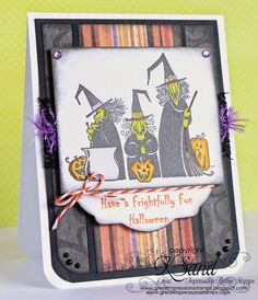 Luv 2 Scrap n' Make Cards: Witches with Great Impressions