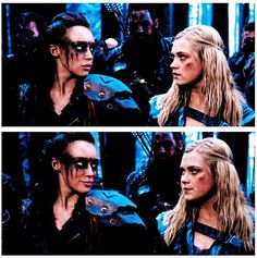 While Bellarke is OTP, I do like Clexa. But, I have a hard time forgiving Lexa for her betrayal at Mount Weather. The 100 Cast, The 100 Show, Best Tv Shows, Best Shows Ever, Commander Lexa, The 100 Clexa, Clarke And Lexa, Eliza Taylor, Alycia Debnam Carey