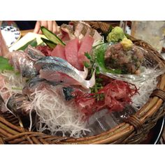 "Japanese favorite food ""SASHIMI"""