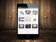 Freebie - iPad Mini Mock-up Template