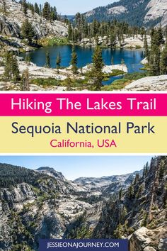 Hiking the Lakes Trail in Sequoia National Park is a must-have experience! It's one of the best hikes in the park, showcasing three beautiful mountain lakes and stunning Sierra Nevada scenery for a wonderful dose of inspiration. If you love adventure, this California trek is certainly worthy of your USA travel bucket list! // #SequoiaNationalPark #California #Hiking