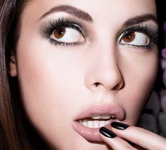 Maybelline Big Eyes ad. VOLUM' EXPRESS® THE FALSIES®BIG EYES®WASHABLE MASCARA IN VERY BLACK Model: Celia Becker