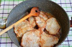 cat de fierb snitelele de porc cu ciuperci si sos cremos de smantana (1) Bread, Chicken, Pork, Breads, Baking, Buffalo Chicken, Sandwich Loaf, Rooster