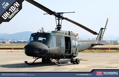 Bell UH-1D / UH-1H, ROK. Limited Edition. Academy, 1/48, injection, No.12308. Price: 26,99 GBP.