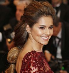 Braided Hairstyles for Women: Cheryl Cole Braids  #braids #braidedhairstyles #hairstyles