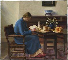 'London Breakfast' - Nora Heysen (1911-2003)