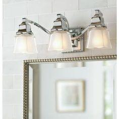 Home Decorators Collection 3Light Brushed Nickel Retro Vanity