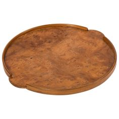 Burr Elm drinks Tray by John Makepeace | From a unique collection of antique and modern serving pieces at http://www.1stdibs.com/furniture/dining-entertaining/serving-pieces/
