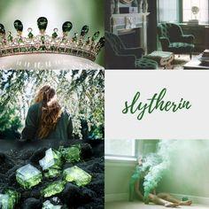 harry potter aesthetics: Slytherin 1/2