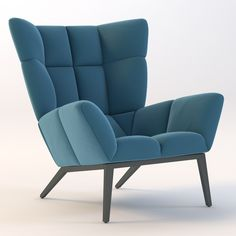 The Metrix lounge chair will add a luxury feel to your living room. Living Room Sofa Design, Lounge Chair Design, Accent Chairs For Living Room, Design Bedroom, Sofa Furniture, Living Room Furniture, Furniture Design, Diy Furniture Videos, High Back Chairs