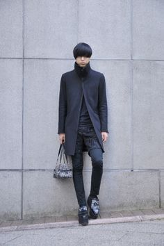 [Street Style] 山田 友紀   高校生   Harajuku (Tokyo)