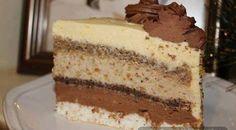 ŠARENA TORTA (I): Tanke kore, a dosta fila, tako da je jako, jako kremasta! Cheesecake Recipes, Cupcake Recipes, Baking Recipes, Dessert Recipes, Torte Recepti, Kolaci I Torte, Jednostavne Torte, Chocolate Whipped Cream Frosting, Snickers Cake