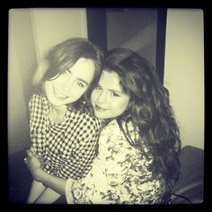 : Lily + Selena = friends forever #proudfran #myidol