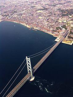 Akashi Kaikyo Bridge, Hyogo, Japan 明石海峡大橋