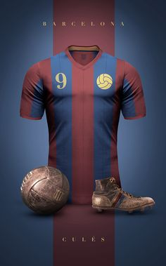Concept design of some football clubs in vintage style. Experiment to see football jerseys as simple and elegant as possible (In my opinion of course).