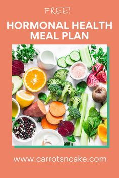 Ever wondered what to eat for hormonal balance? Check out my freehormonal balance meal plan and prep guide to support your menstrual cycle! Balanced Meal Plan, Balanced Meals, Health Meal Plan, Health Tips, Carrots N Cake, Female Hormones, Cake Blog, Hormone Imbalance, Hormone Balancing
