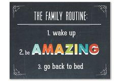 The Family Routine