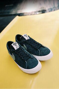 1d0c3e51aef Nike SB Zoom Blazer Low Stussy x Terps  Black   Reflect Silver  Release Date