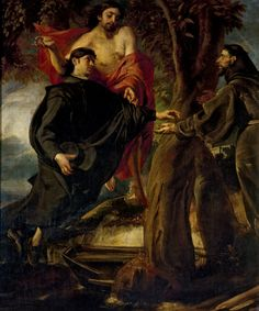 Passage of the Life of Saint Francis / Pasaje de la vida de San Francisco // 2nd half 17th century // Juan Martín Cabezalero // From: Convento Carmelita de San Hermenegildo de Madrid // Museo del Prado