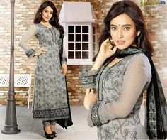 Buy Online stylish and Fabulous Grey Black Churidar #SalwarSuit at much discount price. Extra Rs. 99 OFF On Every Purchase. Get Extra 5% Online Discount On Online Payments. Shop Now:- http://www.shoppers99.com/sunny_leone_designer_anarkali_suits/grey_black_churidar_salwar_suit_t-570-1697