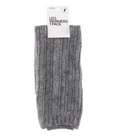 H&m Leg Warmers in Gray (black) | Lyst