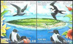 Postzegels - Nauru - Vogels